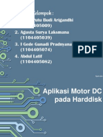 Aplikasi Motor Pada Harddisk Agusta