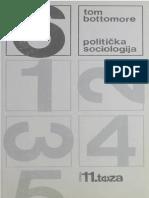 Tom Bottomore-Politička Sociologija-Kulturno-prosvjetni Sabor Hrvatske (1987) (1)