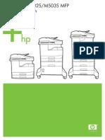 m5035 Mfp Benutzerhandbuch