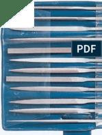 Pila DIN 7261 Forma a Forma B Forma C Forma D Forma E Forma F DIN 7263 Bastard Semifina Fina