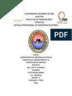 laboratorio de medidas electricas
