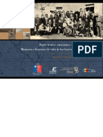 Chile, Memorias e Historias de Vida de los Ferroviarios de La Calera