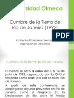 Cumbre de La Tierra de Rio de Janeiro