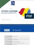 IRES_Starea Natiunii Dupa Alegerile Prezidentiale 2014