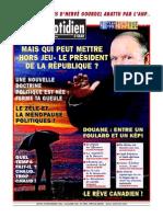 Quotidien Doran Du 27 11 2014