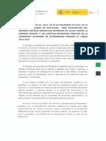 Instrucción Sobre Distribución de Material Escolar Contra La Pobreza Infantil