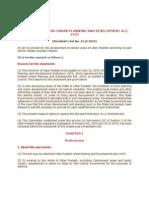 UP Urban Planning & Development Act 1973