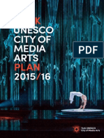 York UNESCO City of Media Arts - 2015 Plan - Small