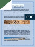Israel Custom Tours