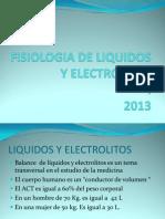 1. Fisiologia de Liquidos y Electrolitos i 2014