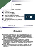2Arquitectura RISC y CISC