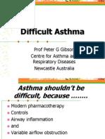 Difficult Asthma