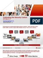 Cultivating the SECURITY Culture Integrating information security into all business dimensions(key_2.Mr.DavidHuawei).pdf