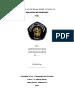 Format Laporan Manajemen Puskesmas