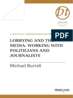 Lobbying Ang Media, Work With Politicians and Journalist