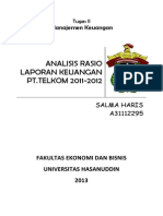 Analisis Rasio Laporan Keuangan Pt (1)