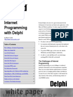Internet Programming With Delphi (Marco Cantu)