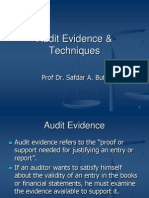 5 Audit Evidence & Techniques