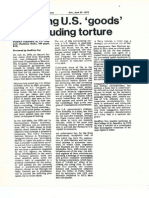 Torture in Uruguay — review, 1978