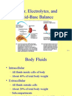 Water, Electrolytes, And Acid-Base Balance