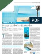 Riviera Maya. Playas caribeñas ilustradas
