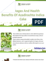Azadirachta Indica Cake A Natural Fertilizer Features and Functions
