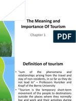 Chapter 1The Meaning and Importance of Tourism.ppt