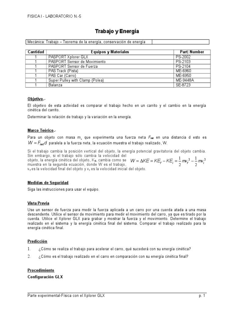 5 Trabajo y Energia 2013
