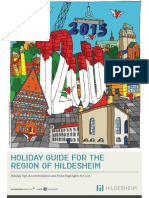 Holiday Guide for the Region of Hildesheim