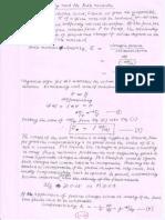 Compressibility and Bulk Modulus