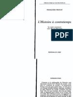 °Proust, Françoise | L'histoire à contretemps