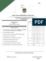 Maths f4 Paper 2 Akhir Thn 2013