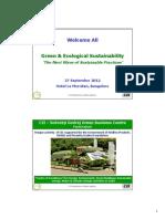 Greenco Rating System - Green & Ecological Sustainability 27 Sep Bangalore 2012.pdf