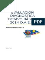 Evaluación Diagnóstica Octavo Básico 2014 Tapa (1)