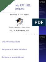 RFC 1855 Netiquette