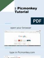 Picmonkey Tutorial