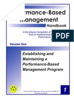The Performance-Based Management
