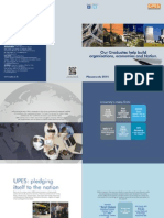 UPES Placement Brochure 2013