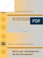 Lecture2 Financial Papers