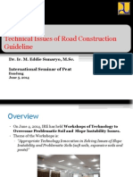 Technical Issues of Road Construction Guideline_Eddie Sunaryo