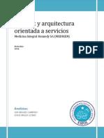 Internet y Arquitectura Orientada a Servicios