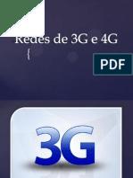 Redes de 3G e 4G