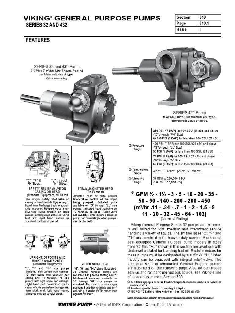 BOMBA G432 ESPC  pdf   Belt (Mechanical)   Pump