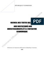 Code Incitation Investissement
