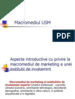 Macromediul USM Finis