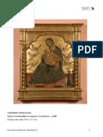 La Virgen de La Humildad Con Angeles y Un Donante
