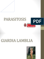 PARASITOSIS, PEDIATRIA, APUNTES