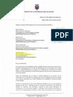 Carta de Mónica Hernández sobre cuadernos metodológicos de la ENIPLA