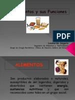 Alimentos y Sus Funciones