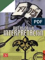 Iser Wolfgang - Rutas de La Interpretacion